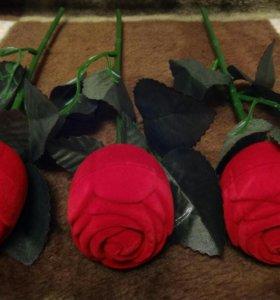 """Подарочный набор """"Роза"""" + серёжки"""