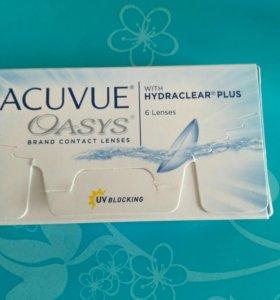 Мягкие контактные линзы ACUVUE Oasys -1.5 и -1.75