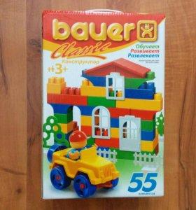 Конструктор типа лего Bauer, новый