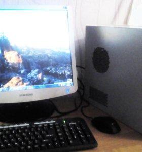 """Пк Core2 Duo E6300 с монитором 19"""""""