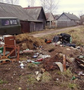 Вывоз мусора.Уборка территории.