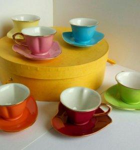 Кофейный сервиз посуда чашки