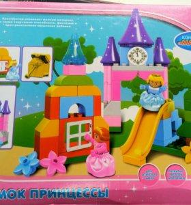Замок принцессы для малышей( от 1 года)