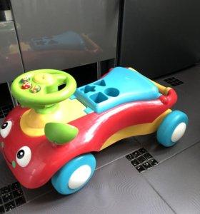 Машинка Каталка-ходунки2-в-1 ELC