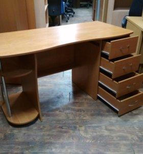 Стол компьютерный, письменный б/у см05004