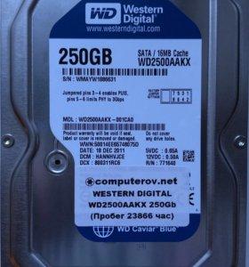 Жесткий диск для ПК 250Гб