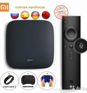 ANDROID TV BOX + 1500 беспл.каналов