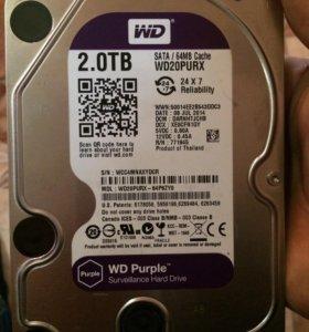 Жёсткий диск 2 терабайта.