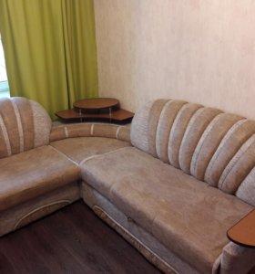 Угловой диван + кресло. Срочно
