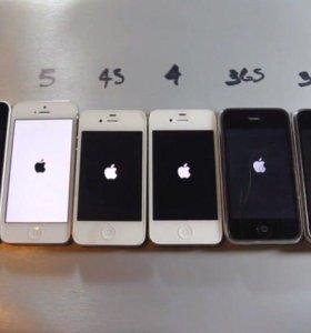 Экран, дисплей с сенсором, модуль IPhone