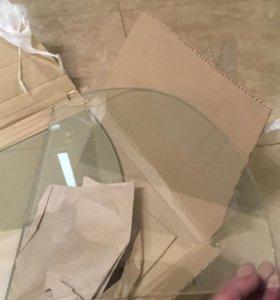 Полки стеклянные навесные