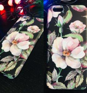 Чехлы iPhone 6/6S (4 шт )