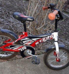 Велосипед с 4-7лет