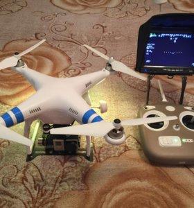 DJI Phantom 2 Zenmuse H4-3D + FPV + 5 батарей