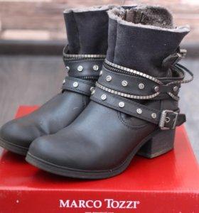 Полусапожки Marco tozzi на меху весенние🌷