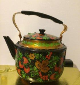 Чайник электрический Хохлома