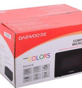 новая микроволн/печь Daewoo compact 15л 500Вт
