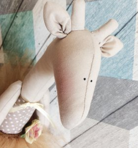 Интерьерная кукла «Жираф»