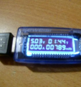 USB тестер (мультиметр)