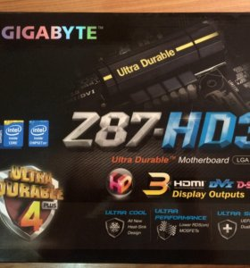 системные платы Gigabyte серии Ultra DURABLE4+