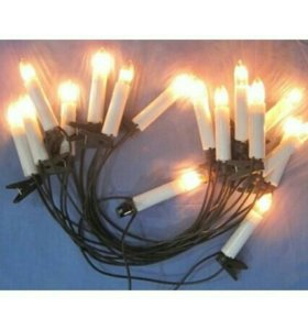Свечи ёлочные + подарки