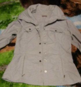 Женская рубашка ветровка