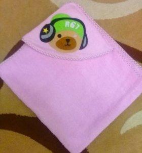 Полотенце для новорожденного