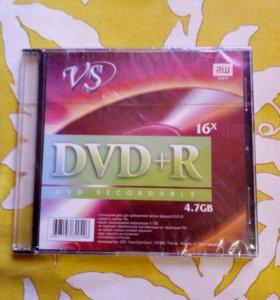 DVD-R диск Mirex 4.7Gb 16x