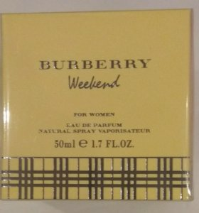 Burberry Weekend for Women,50 ml.Новые.