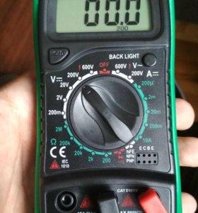 Мультиметр (вольтметр, амперметр, омметр и тд)
