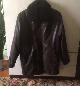 Зимняя куртка и если снять подстежку -осень новая