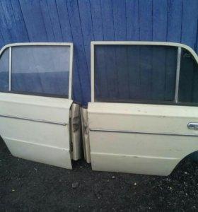 Задние двери на ВАЗ 2106