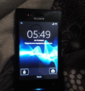 Телефон sony xperia st23i