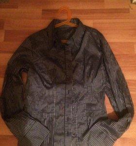 Блузка для девушек с люрексом новая