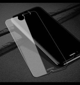 Защитное стекло на айфон 5,6,7,8 + 🎁
