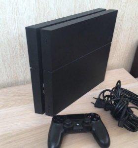 Почти Новая Игровая Приставка Playstation 4 на 1Тб