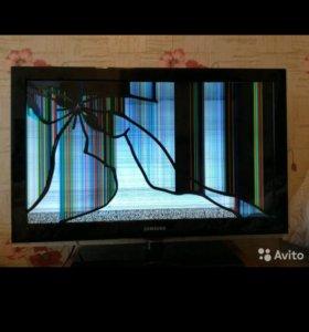 Телевизор самсунг на запчасти(торг)