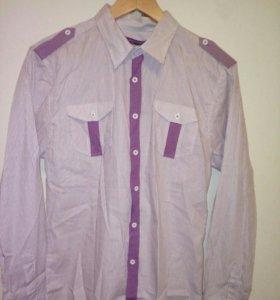 Новые мужские рубашки 44-46 и 52-54