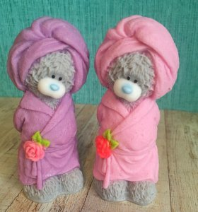 Мишки Тедди (мыло)
