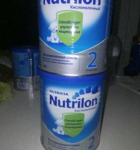 Нутрилон кисломолочный 2