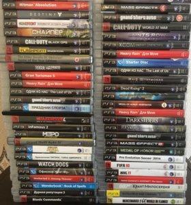 Большой выбор игр для PS3