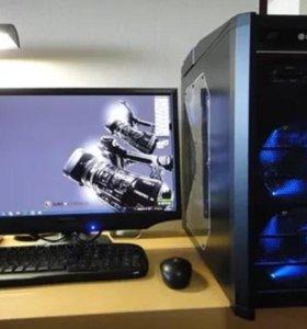 """Готовый игровой компьютер - Core i5 / монитор 20"""""""