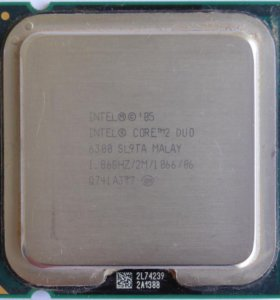 intel core 2 duo 6300