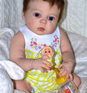 Кукла реборн Полина