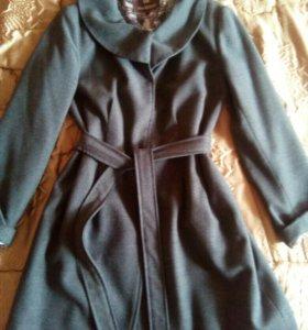 Пальто кашемировое размер 46-48