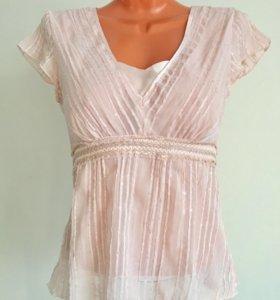 Красивая модная блуза от M&S, размер 44-46 наш