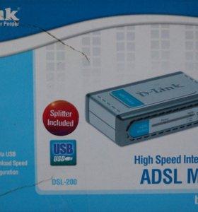 D-Link ADSL Modem USB