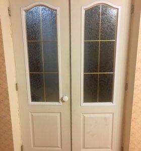 Дверь двойная самовывоз 120см по проему
