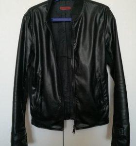 Куртка ZARA кожаная