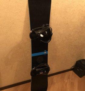 Сноуборд сноубордический комплект